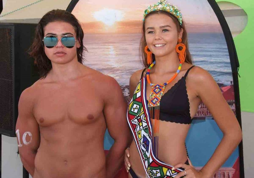 FEATURED IMAGE: Mr and Miss Umhlanga 2019, Greg Kourie, 19, and Janique Pretorius,16. All pictres by ROY REED.